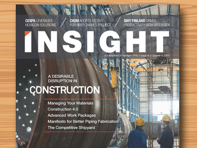 Insight Magazine Issue 41, Q4 2017, Focus on Construction
