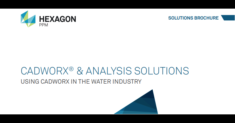 CADWorx and Analysis Solutions in the Water Industry