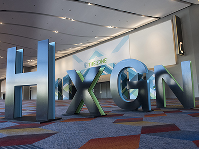 HxGN Live 201, Letters, Sign