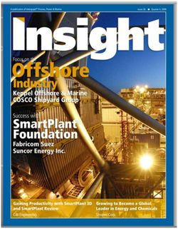 Insight Magazine Offshore Industry Cover