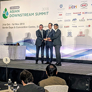 Hexagon PPM wins Digital Transformation Award, Asian Downstream Summit Singapore 2018