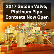 Intergraph, Golden Valve, Platinum Pipe, 2017, Contests, Now Open