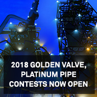 2018 Golden Valve, Platinum Pipe Contests