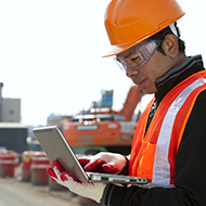 Intergraph Smart Materials Mobile Companion, worker