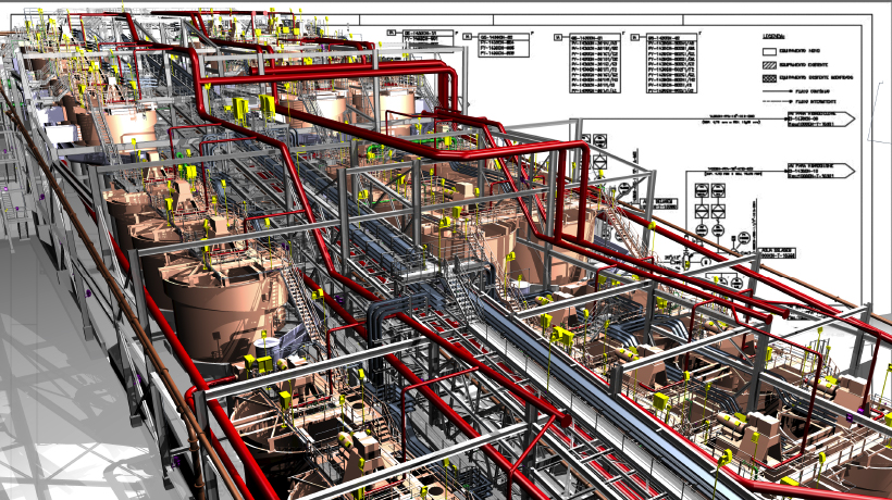 Are work processes and highquality design software the key to mega project success