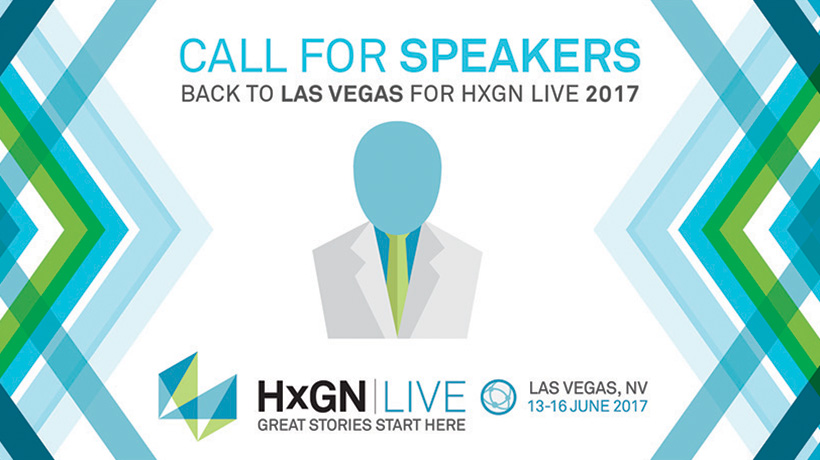 Hexagon Live, HxGN, Call For Speakers