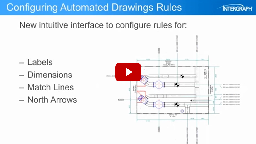 Intergraph Smart 3D, Feature Focus, Automated Drawings, video