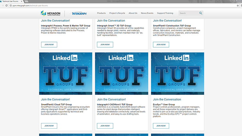 TUF Groups, LinkedIn, Webpage