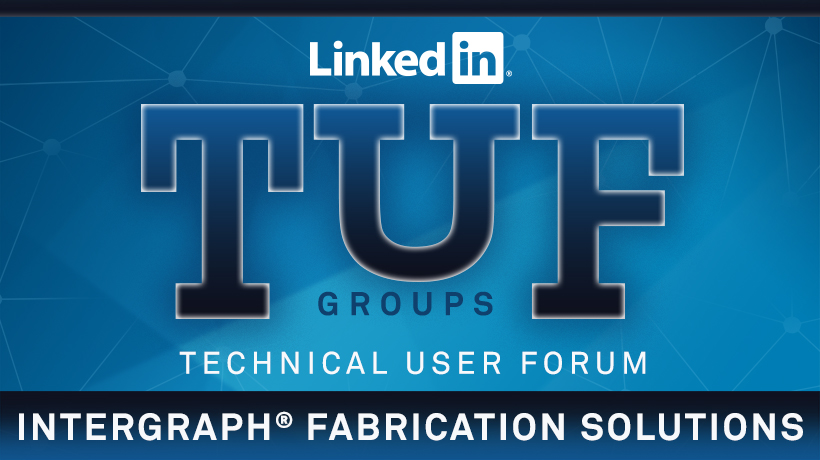 Intergraph Fabrication Solutions TUF Group