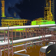 Laser Scanning, created with CloudWorx for Smart 3D