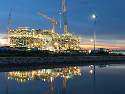 Oil & Gas, Construction, Product Page, Refinery
