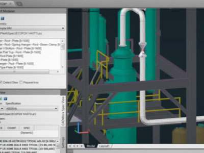 Intergraph CADWorx Plant Design & Analysis Solutions for Better Brownfield Project Execution
