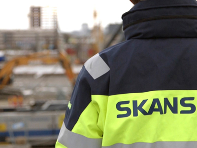 Skanska, HxGN SMART Build, partnership, video